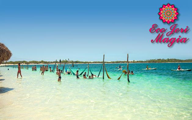 Encante-se por Jericoacoara: considerada uma das dez mais belas praias do mundo! Desconto em 2 Diárias para 2 pessoas + Café da manhã na Pousada Eco Jerimagia a partir de R$260. Confira opcionais para check in até OUTUBRO/2018!!!