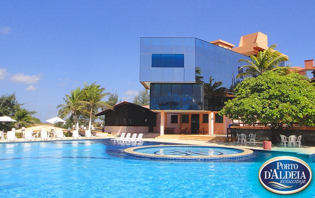 Diversão e conforto no Porto D'Aldeia Eco Lodge Fortaleza: até 3 Diárias para 2 pessoas + Café da manhã + 1 Criança até 8 anos GRÁTIS a partir de R$199. Válido até 31/MARÇO/2018!!!