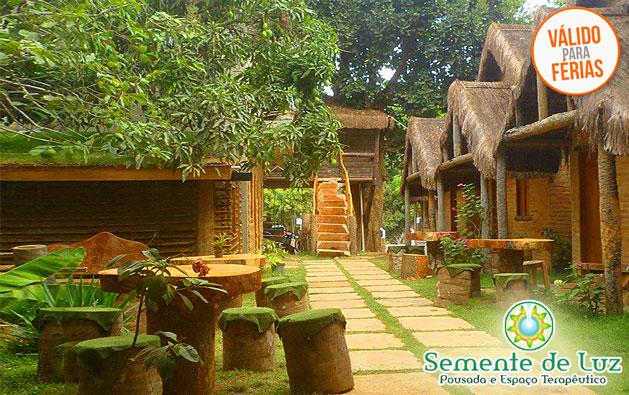 Serra de Ubajara: 2 Diárias para 2 pessoas com Café da manhã por R$230. Clima agradável de serra, lindas paisagens, conforto e tranquilidade na Pousada Semente de Luz. Válido até 28/FEVEREIRO*/2018!!!