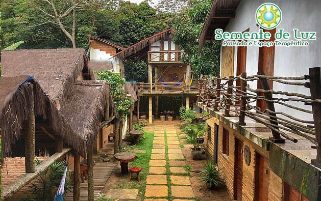 Serra de Ubajara: 2 Diárias para 2 pessoas com Café da manhã por R$199. Clima agradável de serra, lindas paisagens, conforto e tranquilidade na Pousada Semente de Luz.