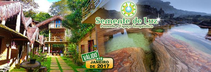 Serra de Ubajara: 2 Diárias para 2 pessoas com Café da manhã por R$230. Clima agradável de serra, lindas paisagens, conforto e tranquilidade na Pousada Semente de Luz. Válido até 31/JANEIRO/2017!!!