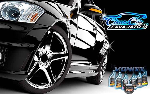 Serviço de qualidade para seu carro ficar limpo e brilhando! Desconto em Lavagem Automotiva (Bancos, Interna, Externa) ou Polimento Cristalizado Vonixx a partir de R$29,90 na Clean Car Lava Jato.