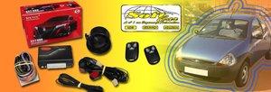 Alarme Automotivo Sistec com Controle Manual + Garantia