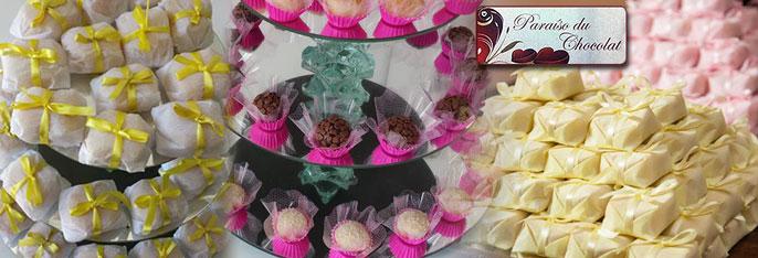 Qualidade e sabor na hora mais gostosa do seu evento com a Paraíso du Chocolat! Desconto em 50 Bem-Casados tradicionais OU 50 Brigadeiros Gourmet por apenas R$39,90.