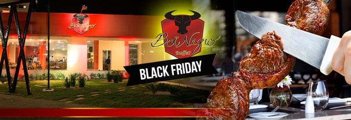 BLACK FRIDAY no Boi Negro Buffet Aguanambi!