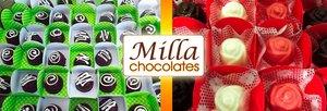 100 Chocolates Finos em caixetas individuais!