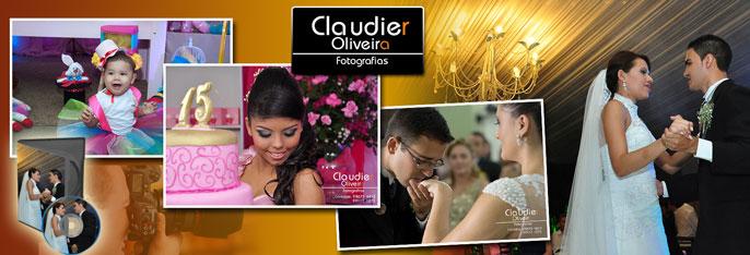 Registre os melhores momentos do seu evento com o Claudier Oliveira Fotografias! Desconto em Cobertura Fotográfica para Casamento, Festa Infantil OU 15 Anos por R$199,90.