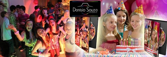 Cobertura Fotográfica de Festa de Aniversário Infantil OU 15 Anos + DVD Personalizado com Fotos do evento por R$199,90. Parcele em até 12x!