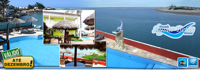 Praia de Água Belas com vista incrível para o Rio e para o Mar! Desconto em 2 Diárias para 2 pessoas + 1 Criança** + Café da manhã na Pousada Águas Belas Paraíso a partir de R$249. Válido até 18/DEZEMBRO*/2016!!!