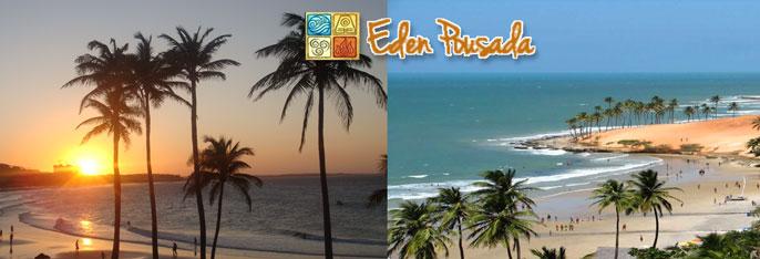 Praia da Lagoinha: 2 diárias para até 3 pessoas com café da manhã em suíte com ar-condicionado a partir de R$179,90!