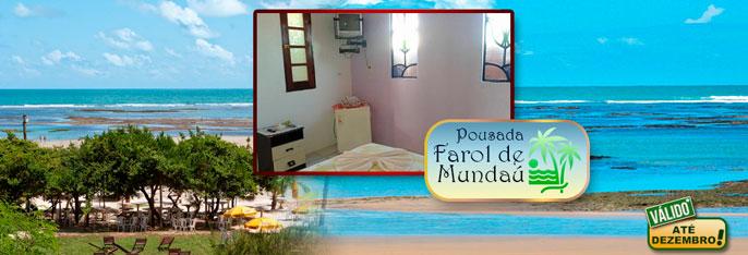 Praia de Mundaú: um paraíso onde a natureza foi generosa! 2 Diárias para 2 pessoas + Criança* + Café da manhã a partir de R$149.  Válido até DEZEMBRO**/2016!!!