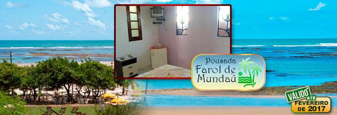 Praia de Mundaú: um paraíso onde a natureza foi generosa! 2 Diárias para 2 pessoas + Criança* + Café da manhã a partir de R$149.  Válido até FEVEREIRO**/2017!!!