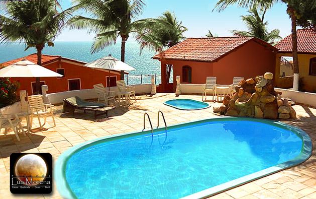 Canoa Quebrada: 2 Diárias para 3 Pessoas com Café da Manhã em Apartamento ou Chalé Vista Mar na Pousada Lua Morena a partir de R$189!