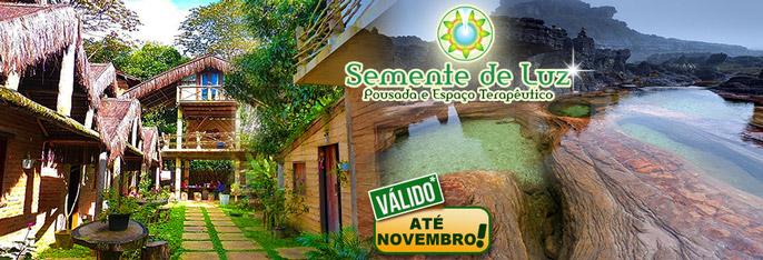 Serra de Ubajara: 2 Diárias para 2 pessoas com Café da manhã por R$230. Clima agradável de serra, lindas paisagens, conforto e tranquilidade na Pousada Semente de Luz. Válido até NOVEMBRO/2016!!!