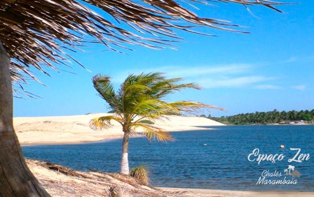 Dias inesquecíveis de frente pro mar no Espaço Zen da Praia de Uruaú! Desconto em 2 Diárias para até 8 pessoas em Chalé ou Casa a partir de R$179.