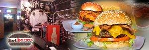 Burger (4 opções, escolha 1) + Batata Frita!