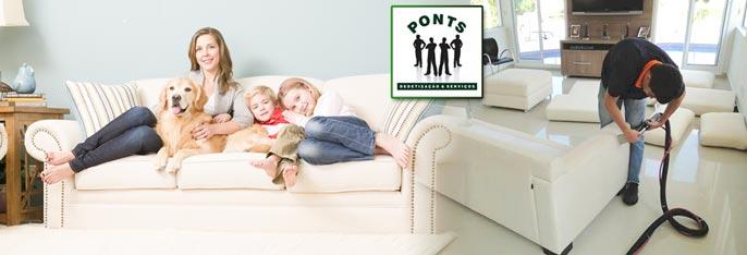 Lavagem a seco em domicílio de Estofados até 5 lugares (opcional com Limpeza de Carpete) ou Cama Box Solteiro ou Casal a partir de R$59,90.