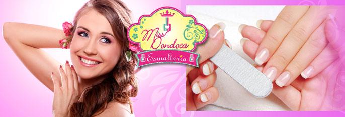Unhas lindas e cabelo revitalizado na Miss Dondoca Esmalteria! Manicure + Pedicure + Escova + opcionais com Nutrição Capilar ou Botox Capilar Redutor a partir de R$39,90.