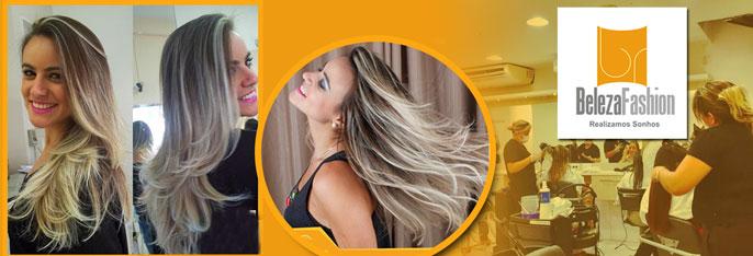 Mechas com Tonalizante + Tratamento de Queratina OU Californianas OU Ombré Hair OU Escova Inteligente a partir de R$59.