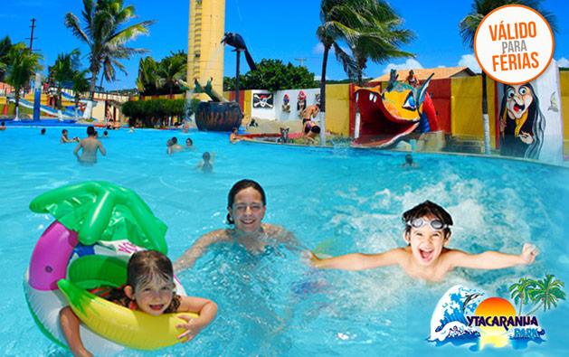 Férias com diversão pra toda família no Ytacaranha Park! Desconto em 1 Ingresso Adulto + 1 Criança até 6 anos para o Parque Aquático por apenas R$34,90.