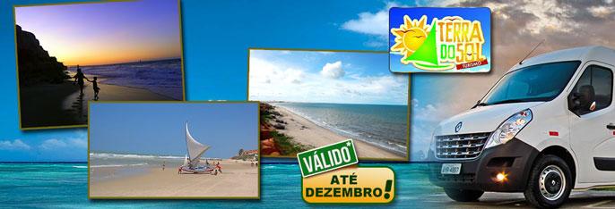 Conheça a Praia das Fontes, Morro Branco e Canoa Quebrada em 1 dia! Passeio por 3 lindas praias para até 4 pessoas a partir de R$39.
