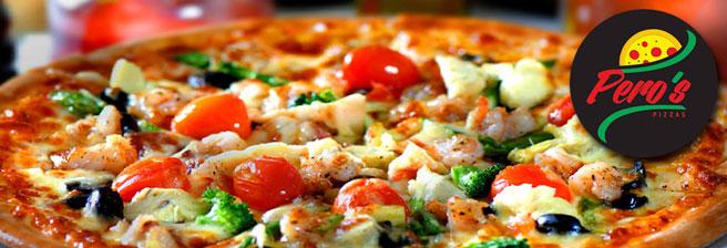 Pizza Grande (salgada) OU Pizza Grande (salgada) + Pizza Média (doce), consumo no local, viagem ou delivery* a partir de R$23,90!