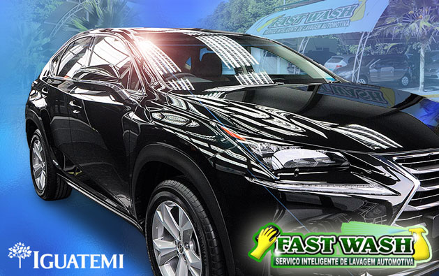 Lavagem automotiva completa + Diamantação da pintura + Cristalização dos vidros + Higienização de ar-condicionado (opcional) a partir de R$29,90 na Fast Wash do Shopping Iguatemi!