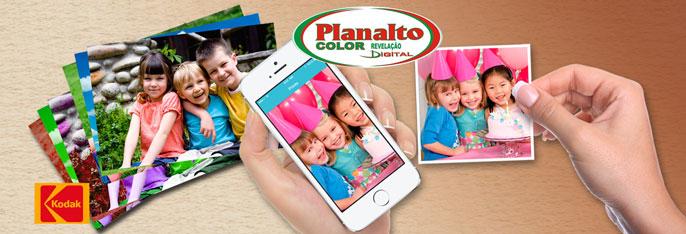 Revele seus melhores momentos na Planalto Color Fotografia! Impressão Digital em papel fotográfico Kodak de 50 ou 100 Fotos (10X15) a partir de R$21,90.