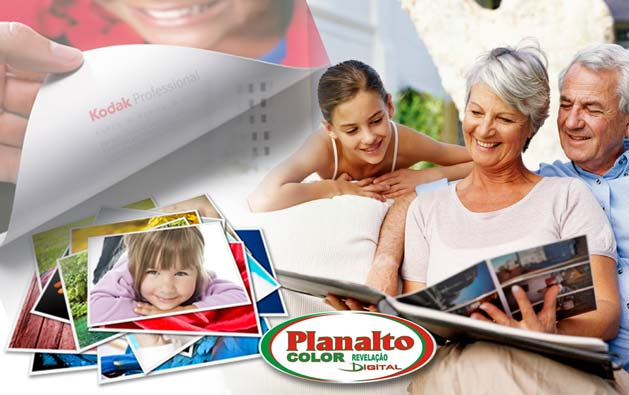 Revele suas melhores lembranças em alta qualidade na Planalto Color Fotografia! Impressão Digital em papel fotográfico Kodak de 50 ou 100 Fotos (10X15) a partir de R$24,90.