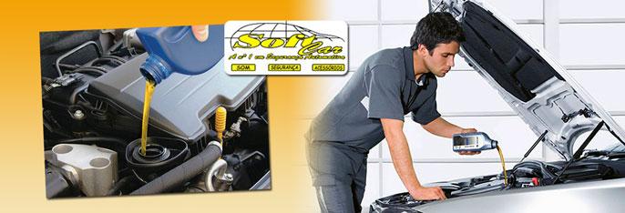 Garanta o bom desempenho do seu veículo com a Soft Car! Desconto em Troca de Óleo (até 4 litros) + Troca de Filtro + Aspiração + Higienização de Ar Condicionado Veicular por R$64,90.