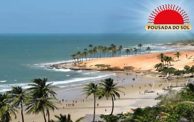 Encante-se com as belezas naturais da Praia de Lagoinha! Desconto em 2 Diárias para 2 pessoas + 1 Criança até 7 anos GRÁTIS + Café da Manhã a partir de R$219,90 na Pousada do Sol.