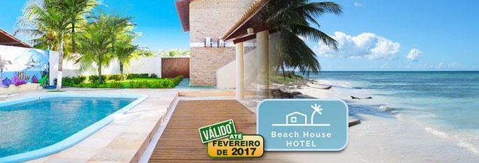 Aproveite dias de descanso e lazer na privilegiada Praia do Presídio a poucos km de Fortaleza! 2 Diárias para 2 pessoas + Café da manhã no aconchegante Beach House Hotel a partir de R$159,90. Válido até 20/02/2017*!!!