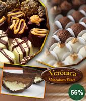 100 Chocolates Trufados ou Decorados!