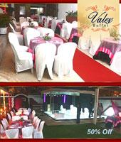 Festa no Valex Buffet para 50, 80 ou 100 pessoas!