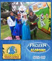Visitação ao Parque + Show Musical Frozen!