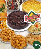 Torta Doce e Salgada + Salgados + Docinhos + Refri!