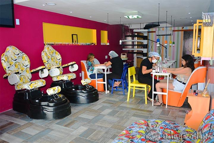 Spa relax completo para os p s com desconto for Oferta salon completo